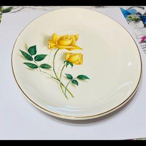 Vintage Dining - Vintage Serving Platter Simplicity By Canonsburg